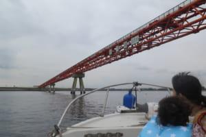 大田市場や工場群を眺めながら@京浜運河クルーズ